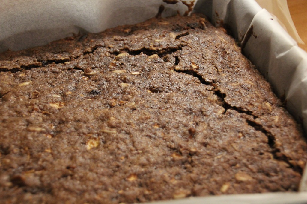 Apple-cinnamon brownies
